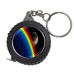 Rainbow Earth Outer Space Fantasy Carmen Image Measuring Tapes by Simbadda