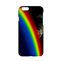 Rainbow Earth Outer Space Fantasy Carmen Image Apple Iphone 6/6s Hardshell Case