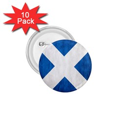 Scotland Flag Surface Texture Color Symbolism 1 75  Buttons (10 Pack) by Simbadda