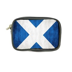 Scotland Flag Surface Texture Color Symbolism Coin Purse by Simbadda