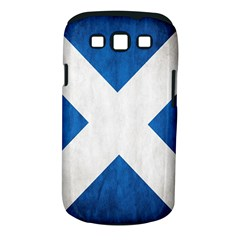 Scotland Flag Surface Texture Color Symbolism Samsung Galaxy S Iii Classic Hardshell Case (pc+silicone)