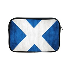 Scotland Flag Surface Texture Color Symbolism Apple Ipad Mini Zipper Cases by Simbadda