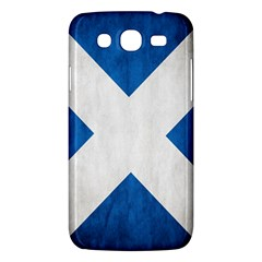 Scotland Flag Surface Texture Color Symbolism Samsung Galaxy Mega 5 8 I9152 Hardshell Case  by Simbadda