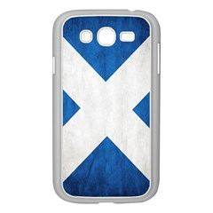 Scotland Flag Surface Texture Color Symbolism Samsung Galaxy Grand Duos I9082 Case (white) by Simbadda
