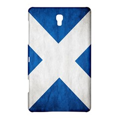 Scotland Flag Surface Texture Color Symbolism Samsung Galaxy Tab S (8 4 ) Hardshell Case  by Simbadda