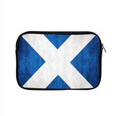 Scotland Flag Surface Texture Color Symbolism Apple Macbook Pro 15  Zipper Case by Simbadda