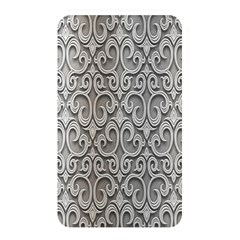 Patterns Wavy Background Texture Metal Silver Memory Card Reader