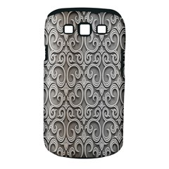 Patterns Wavy Background Texture Metal Silver Samsung Galaxy S Iii Classic Hardshell Case (pc+silicone) by Simbadda