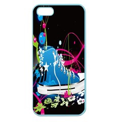 Sneakers Shoes Patterns Bright Apple Seamless Iphone 5 Case (color) by Simbadda