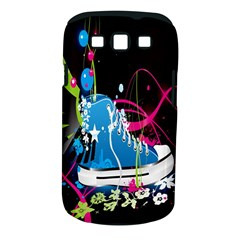 Sneakers Shoes Patterns Bright Samsung Galaxy S Iii Classic Hardshell Case (pc+silicone) by Simbadda