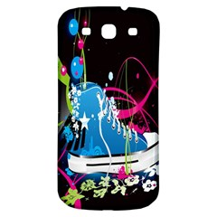 Sneakers Shoes Patterns Bright Samsung Galaxy S3 S Iii Classic Hardshell Back Case by Simbadda