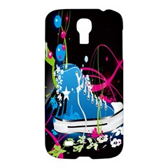 Sneakers Shoes Patterns Bright Samsung Galaxy S4 I9500/i9505 Hardshell Case by Simbadda