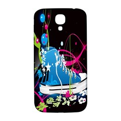 Sneakers Shoes Patterns Bright Samsung Galaxy S4 I9500/i9505  Hardshell Back Case by Simbadda