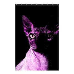 Pink Sphynx Cat Shower Curtain 48  X 72  (small)