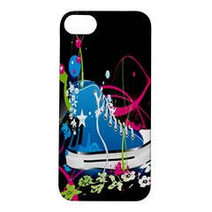 Sneakers Shoes Patterns Bright Apple Iphone 5s/ Se Hardshell Case by Simbadda
