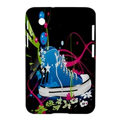 Sneakers Shoes Patterns Bright Samsung Galaxy Tab 2 (7 ) P3100 Hardshell Case  by Simbadda