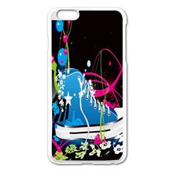 Sneakers Shoes Patterns Bright Apple Iphone 6 Plus/6s Plus Enamel White Case by Simbadda
