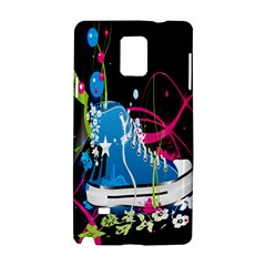 Sneakers Shoes Patterns Bright Samsung Galaxy Note 4 Hardshell Case by Simbadda
