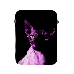 Pink Sphynx Cat Apple Ipad 2/3/4 Protective Soft Cases by Valentinaart