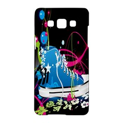 Sneakers Shoes Patterns Bright Samsung Galaxy A5 Hardshell Case  by Simbadda