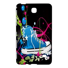 Sneakers Shoes Patterns Bright Samsung Galaxy Tab 4 (8 ) Hardshell Case  by Simbadda