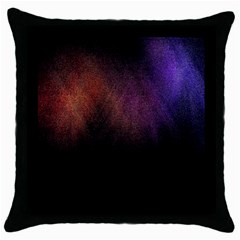 Point Light Luster Surface Throw Pillow Case (black) by Simbadda