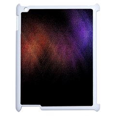 Point Light Luster Surface Apple Ipad 2 Case (white) by Simbadda