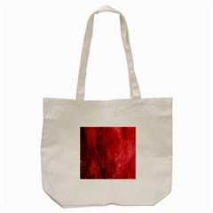 Red Background Texture Tote Bag (cream) by Simbadda
