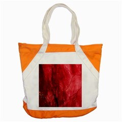 Red Background Texture Accent Tote Bag by Simbadda