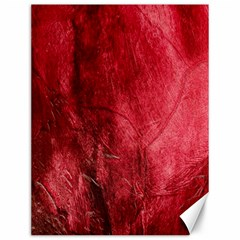 Red Background Texture Canvas 12  X 16   by Simbadda