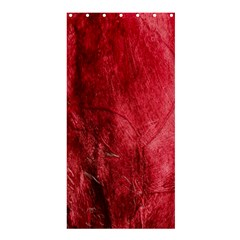 Red Background Texture Shower Curtain 36  X 72  (stall)  by Simbadda