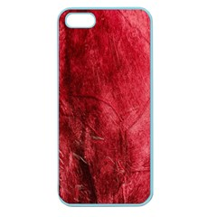 Red Background Texture Apple Seamless Iphone 5 Case (color) by Simbadda