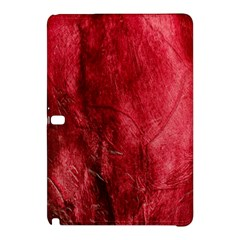 Red Background Texture Samsung Galaxy Tab Pro 12 2 Hardshell Case by Simbadda