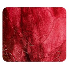 Red Background Texture Double Sided Flano Blanket (small)  by Simbadda