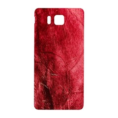 Red Background Texture Samsung Galaxy Alpha Hardshell Back Case by Simbadda