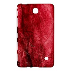 Red Background Texture Samsung Galaxy Tab 4 (8 ) Hardshell Case  by Simbadda