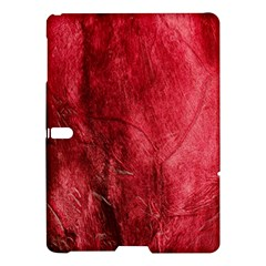 Red Background Texture Samsung Galaxy Tab S (10 5 ) Hardshell Case  by Simbadda