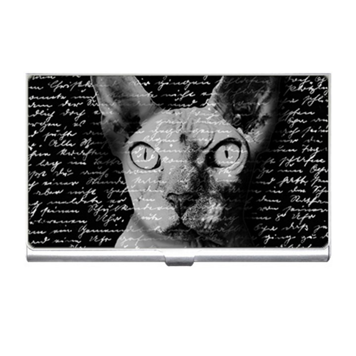 Sphynx Cat Business Card Holders | CowCow