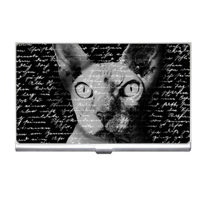 Sphynx cat business card holders cowcow sphynx cat business card holders reheart Gallery