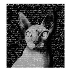 Sphynx Cat Shower Curtain 66  X 72  (large)  by Valentinaart