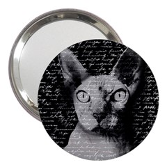 Sphynx Cat 3  Handbag Mirrors by Valentinaart