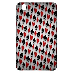 Suit Spades Hearts Clubs Diamonds Background Texture Samsung Galaxy Tab Pro 8 4 Hardshell Case