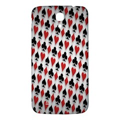 Suit Spades Hearts Clubs Diamonds Background Texture Samsung Galaxy Mega I9200 Hardshell Back Case