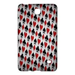 Suit Spades Hearts Clubs Diamonds Background Texture Samsung Galaxy Tab 4 (8 ) Hardshell Case
