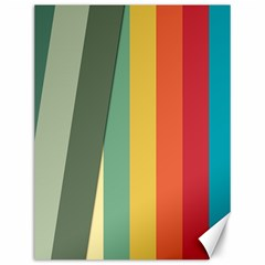 Texture Stripes Lines Color Bright Canvas 12  X 16   by Simbadda