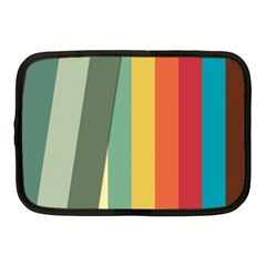 Texture Stripes Lines Color Bright Netbook Case (medium)  by Simbadda