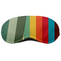 Texture Stripes Lines Color Bright Sleeping Masks by Simbadda