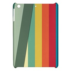 Texture Stripes Lines Color Bright Apple Ipad Mini Hardshell Case by Simbadda
