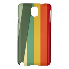 Texture Stripes Lines Color Bright Samsung Galaxy Note 3 N9005 Hardshell Case by Simbadda