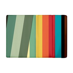 Texture Stripes Lines Color Bright Ipad Mini 2 Flip Cases by Simbadda